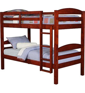 Twin Size Kids Bunk Bed Image