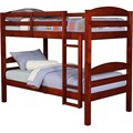 Twin Size Kids Bunk Bed