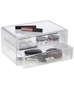 Two Drawer Make Up Organizer - Acrylic