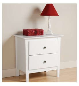 Two Drawer Night Stand - Berkshire Image