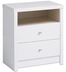 Two-Drawer Night Stand - Calla Image