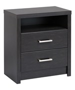 Two-Drawer Night Stand - District