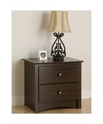 Two Drawer Night Stand - Fremont