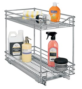 Two-Tier Cabinet Organizer - 11 Inch Image