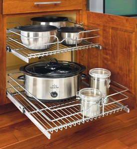 Two-Tier Cabinet Organizer - Extra Large Image