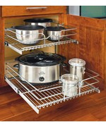 Two-Tier Cabinet Organizer - Extra Large