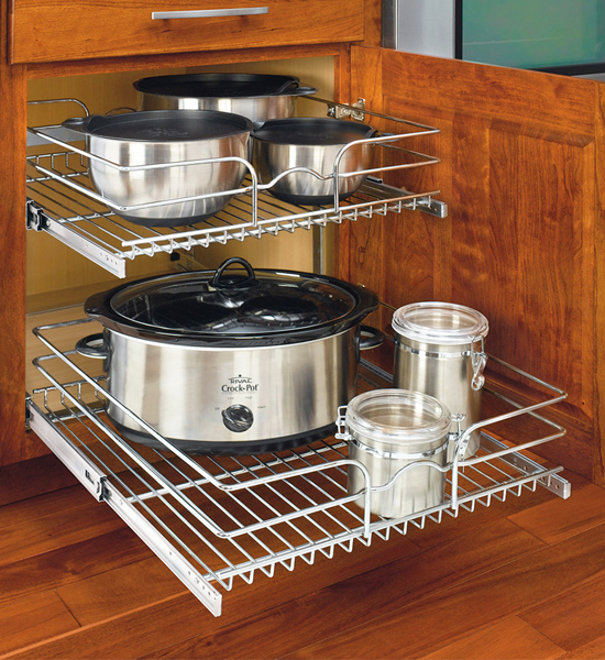 ... Two Tier Cabinet Organizer   Extra Large ...