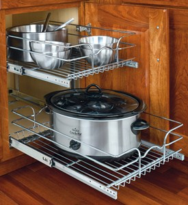 Two-Tier Cabinet Organizer - Medium Image