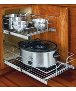 Two-Tier Cabinet Organizer - Medium