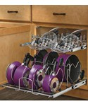 Two-Tier Cookware Organizer - Extra Large