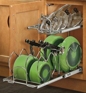 Two-Tier Cookware Organizer - Small Image
