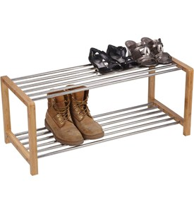 Two Tier Shoe Rack Image