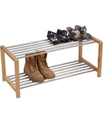 Two Tier Shoe Rack