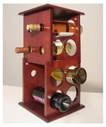 Two Tier Wine Rack - 8 Bottle