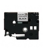 P-Touch TZ Replacement Tape - Black on White