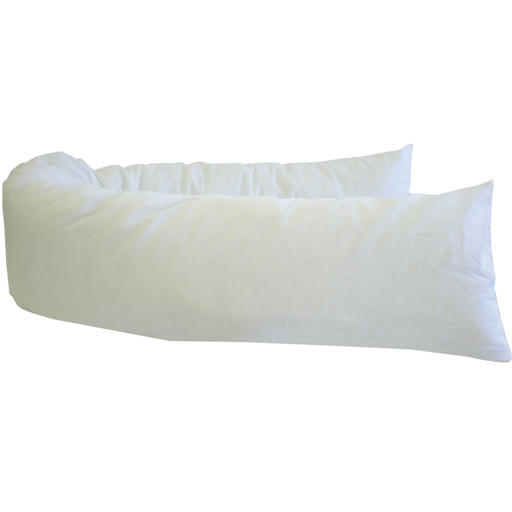 U Shaped Body Pillow In Bed Pillows