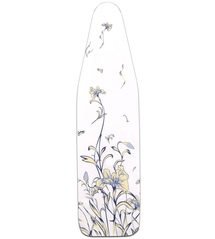 buy household essentials silver coated ironing board c