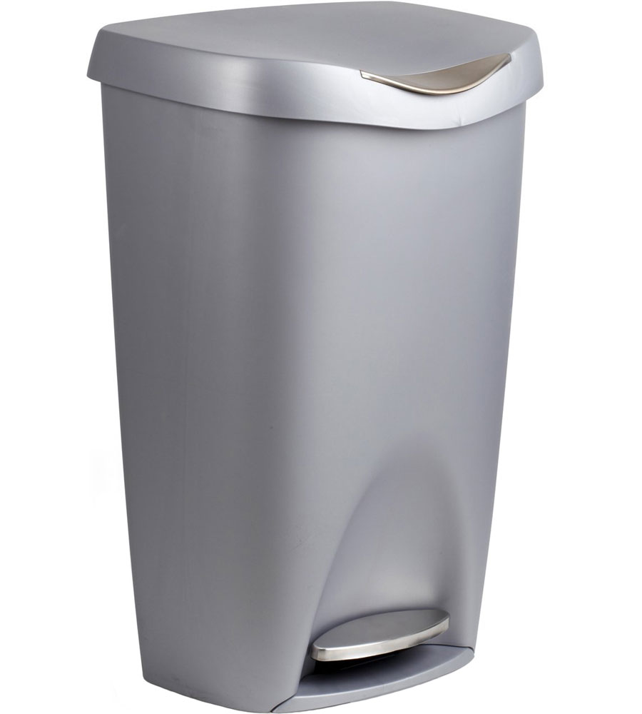 Umbra 50 liter step garbage can in kitchen trash cans Kitchen garbage cans