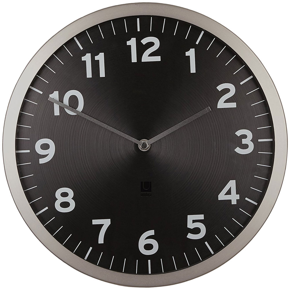 Umbra Contemporary Wall Clock In Wall Clocks
