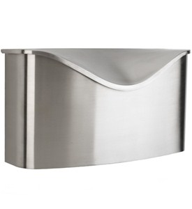 Umbra Mailbox - Brushed Stainless Steel Image