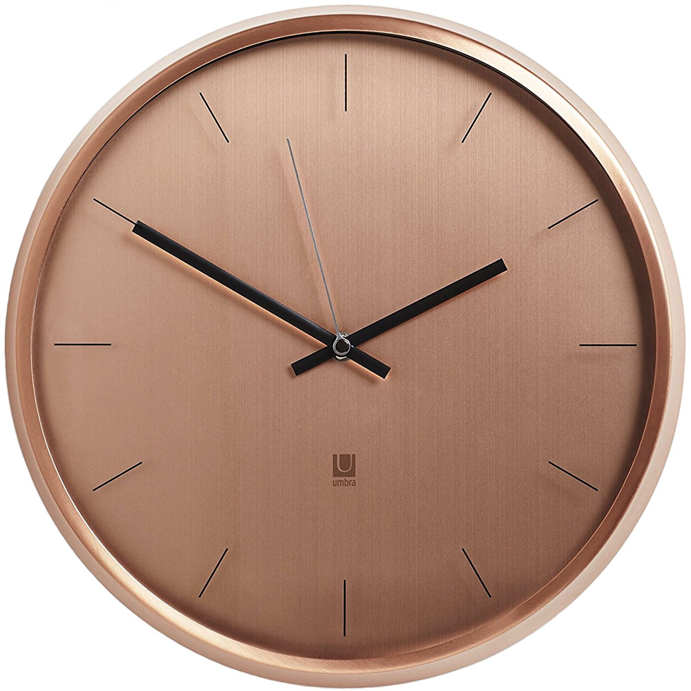 Umbra metal wall clock in wall clocks - Chaise rose maison du monde ...