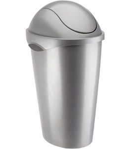 Umbra Swing Top Trash Can - Nickel Image