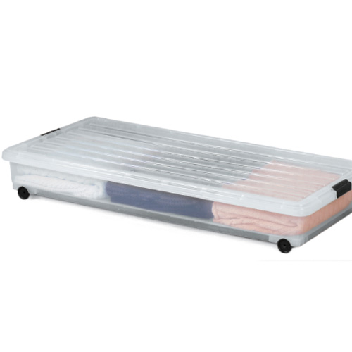 underbed plastic rolling box in plastic storage boxes