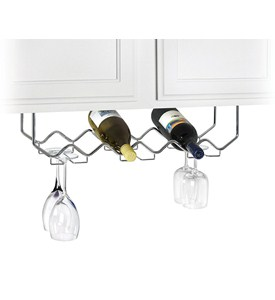 Under Cabinet Wine and Stemware Rack Image