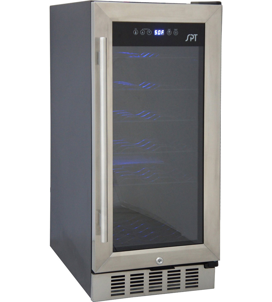 Counter Height Wine Cooler : Under Counter Wine Cooler in Wine Coolers