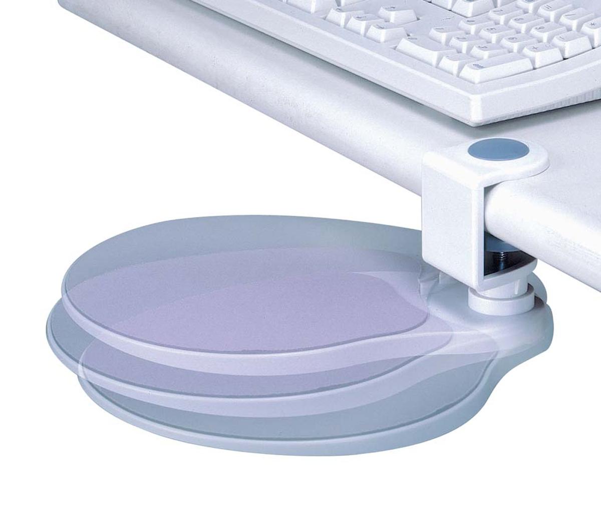 Under Desk Mouse Platform In Desk Accessories