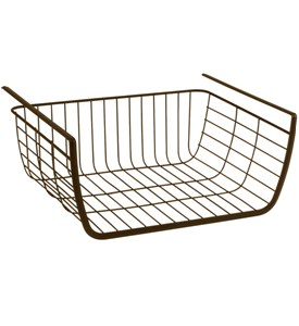 Under Shelf Storage Basket - Bronze Image