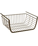 Under Shelf Storage Basket - Bronze