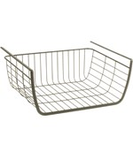 Under Shelf Storage Basket - Satin Nickel