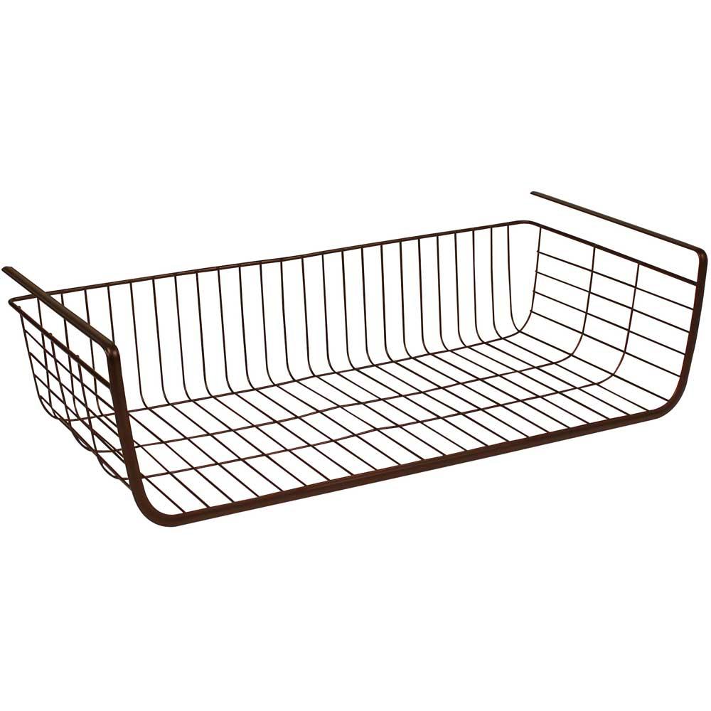 Under Shelf Storage Basket Price: $14.99