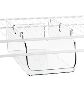 Under Shelf Storage Bin - Wire Shelving Image