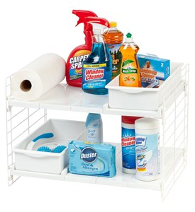 Under Sink Shelf Organizer Image