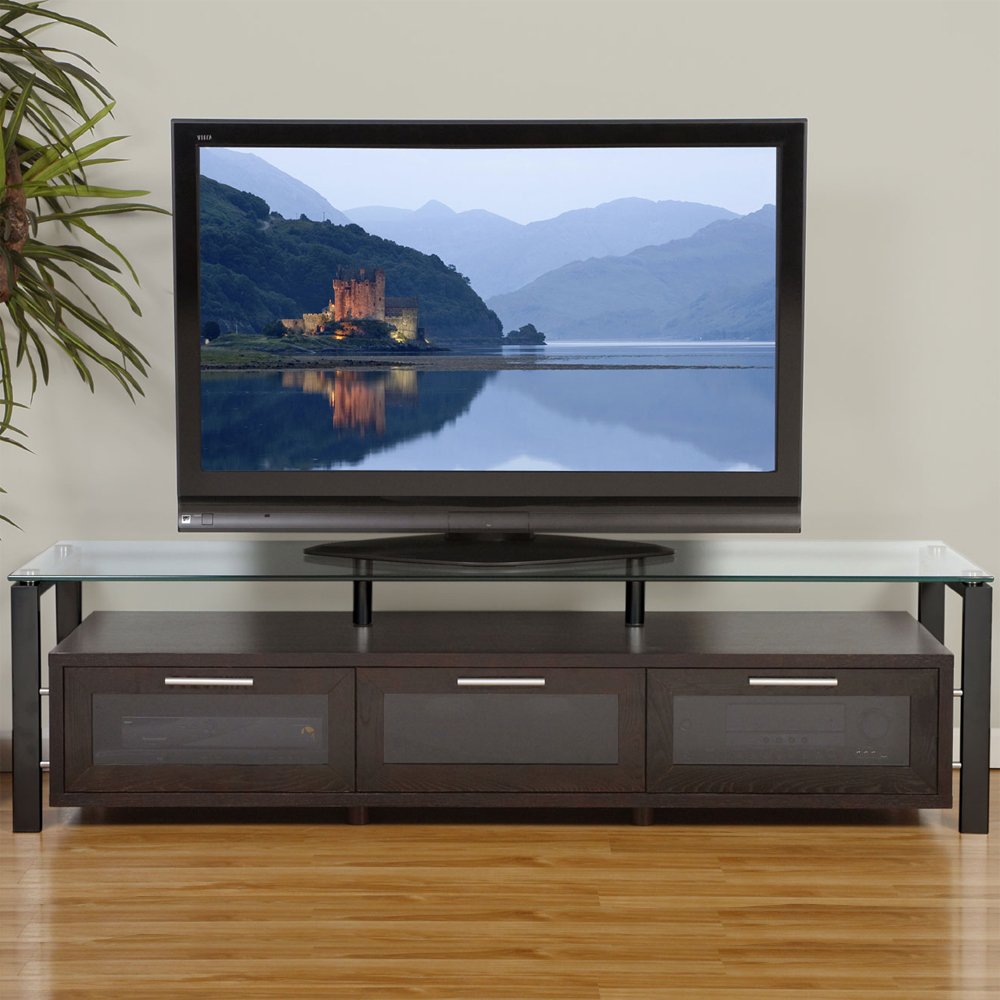 Universal Flat Screen TV Stand In TV Stands