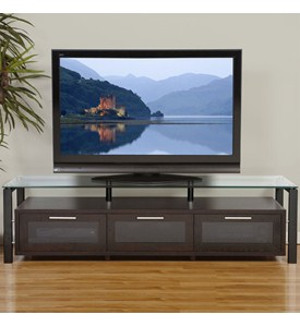 Universal Flat Screen TV Stand Image