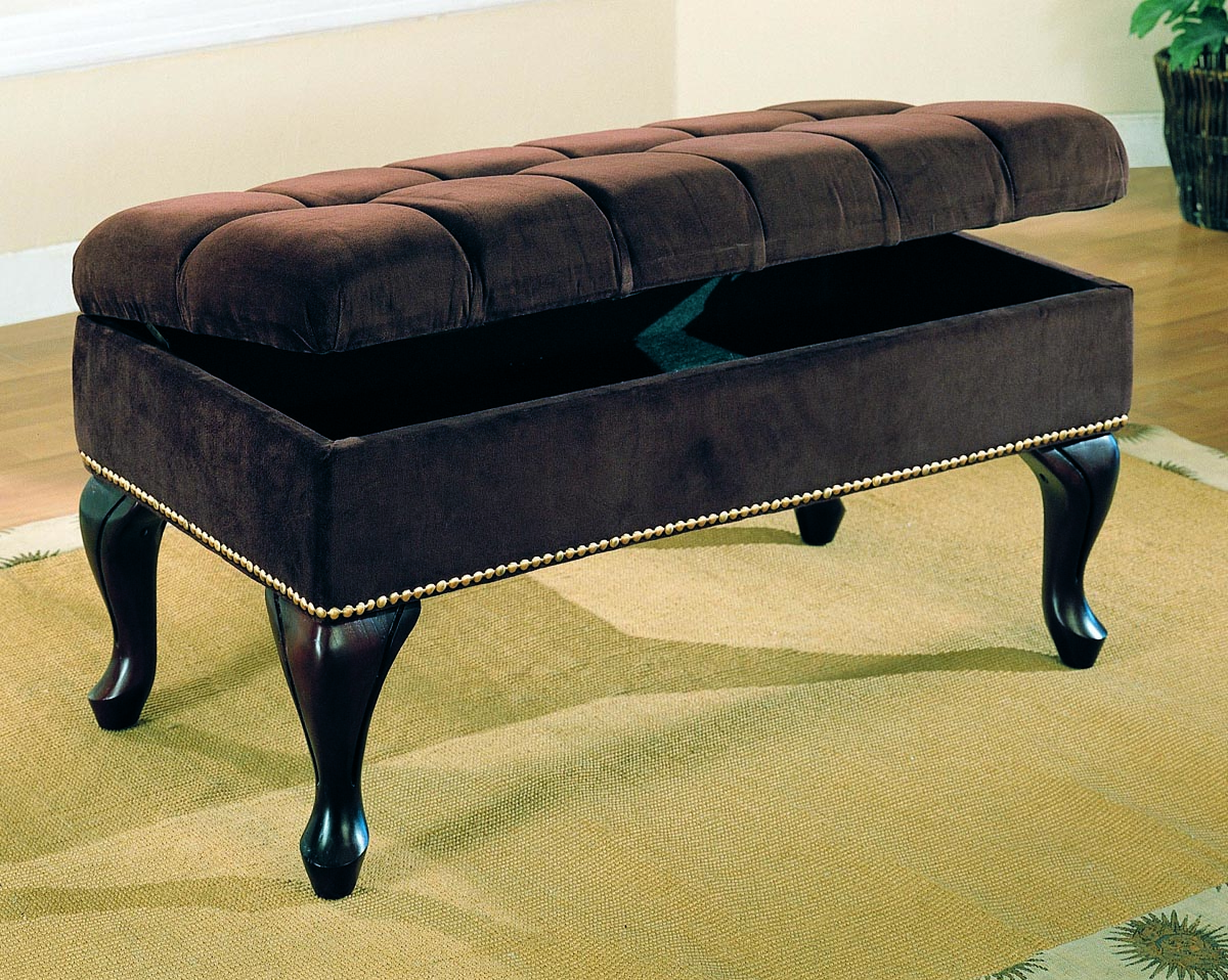 Upholstered Hall Storage Bench by Coaster in Storage Benches