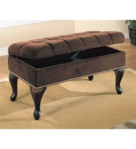 Upholstered Hall Storage Bench by Coaster Image
