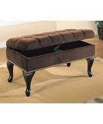 Upholstered Hall Storage Bench by Coaster