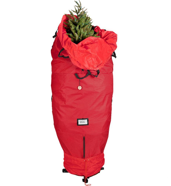upright christmas tree storage bag image - Christmas Tree Bag Storage