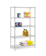 Urban Adjustable 5-Shelf Unit - Chrome