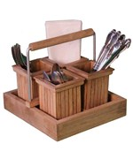 Utensil Rack - Teak