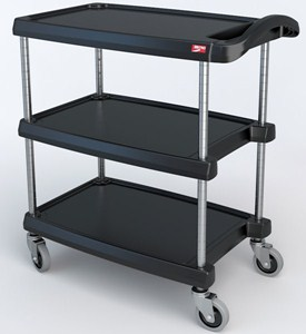 Utility Cart - InterMetro Three Shelf Image