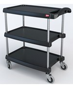 Utility Cart - InterMetro Three Shelf