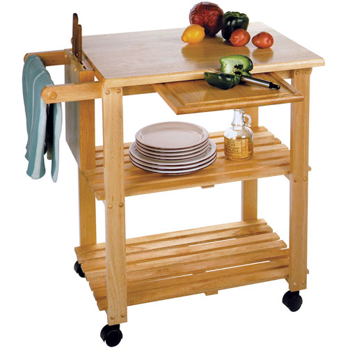Kitchen Utility Cart Beechwood In Kitchen Island Carts