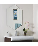 Vandam Frameless Mirror by Decor Wonderland