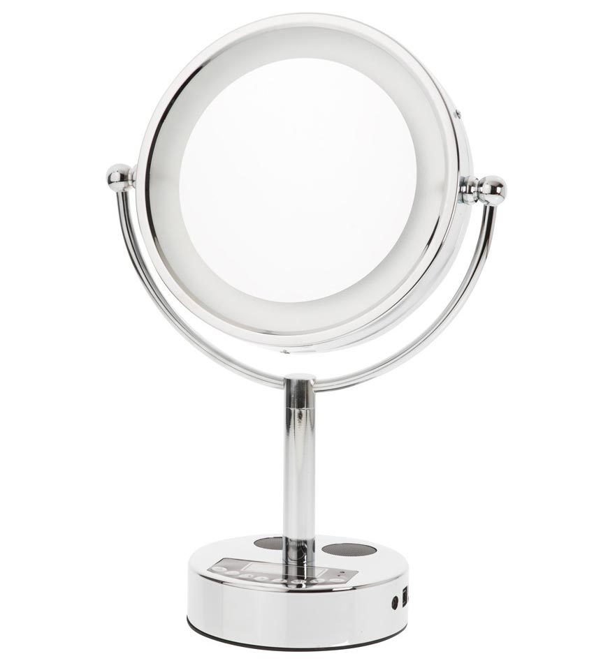 vanity mirror danielle l e d bluetooth in makeup mirrors