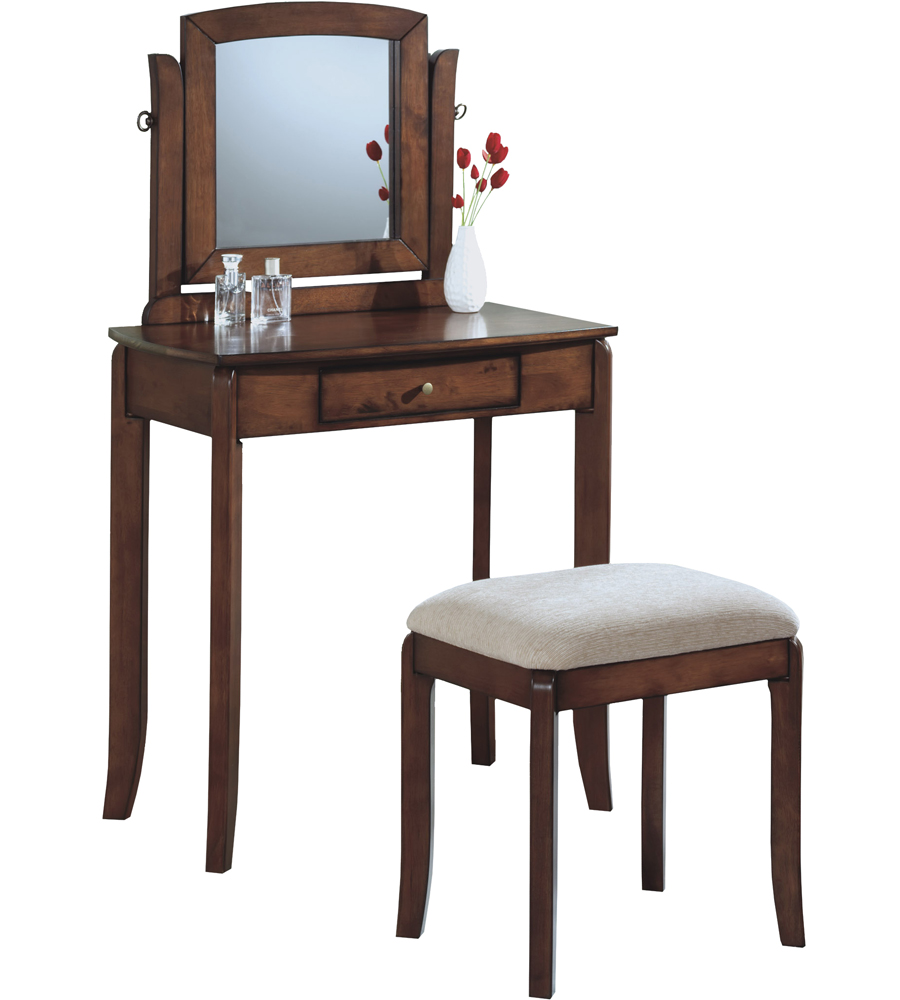 Vanity table and stool in vanity sets - Stool for vanity table ...